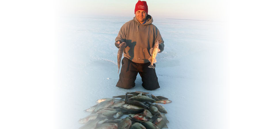 Solid day on Lake Winnebago