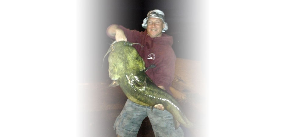 Flathead catfish taken on the Fox River
