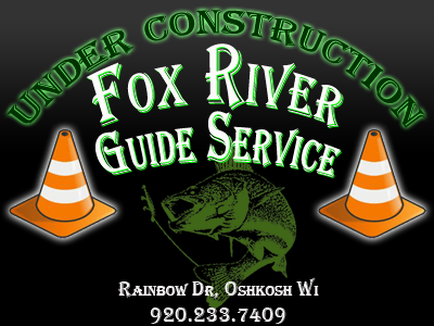 Fox River Bait & Tackle Guide Service webpage coming soon